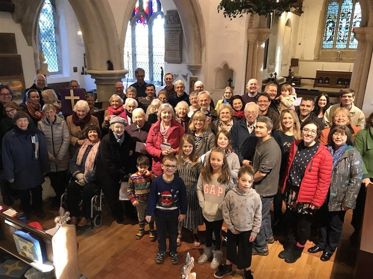 Church family photo - 161218 -